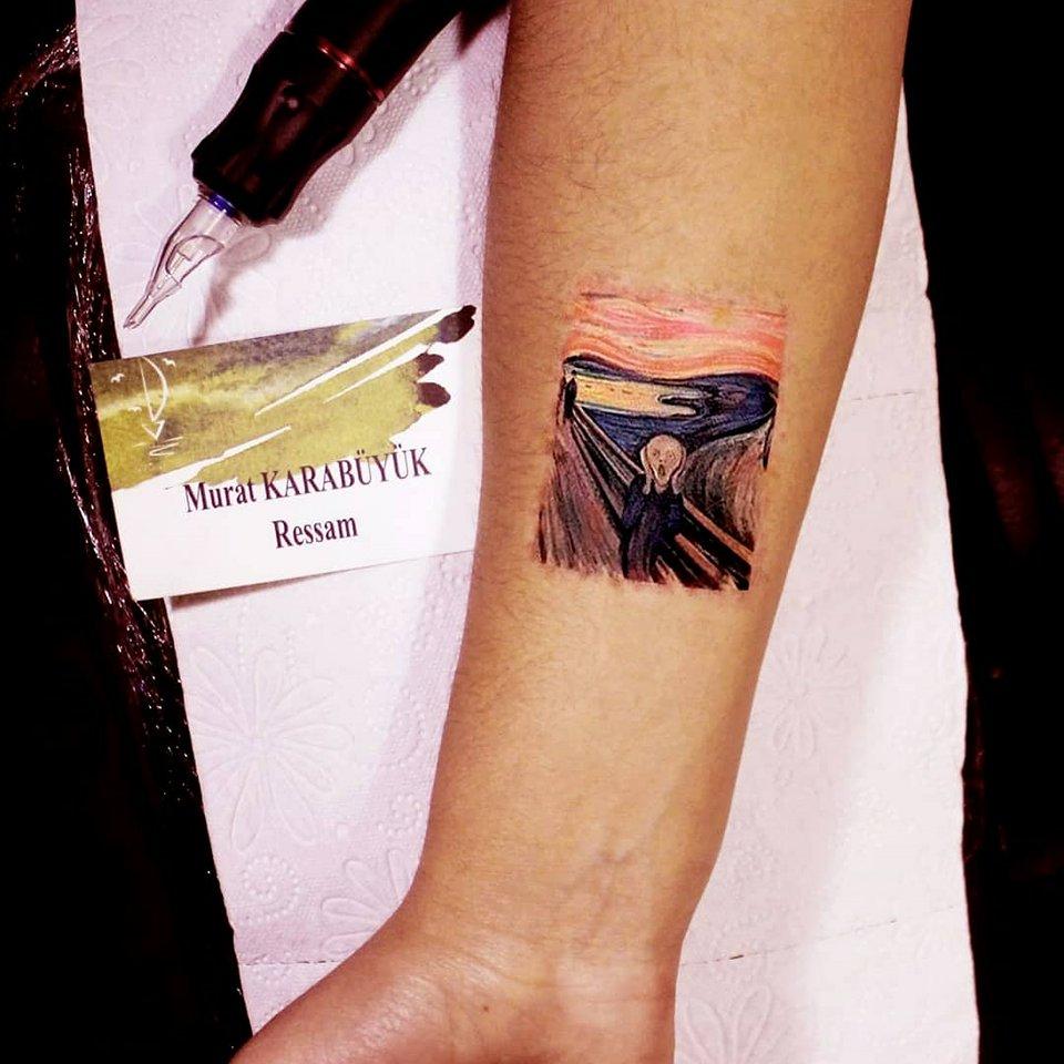 tattoo kadıköy istanbul tatto kalıcı dövme ressam minimalist 124