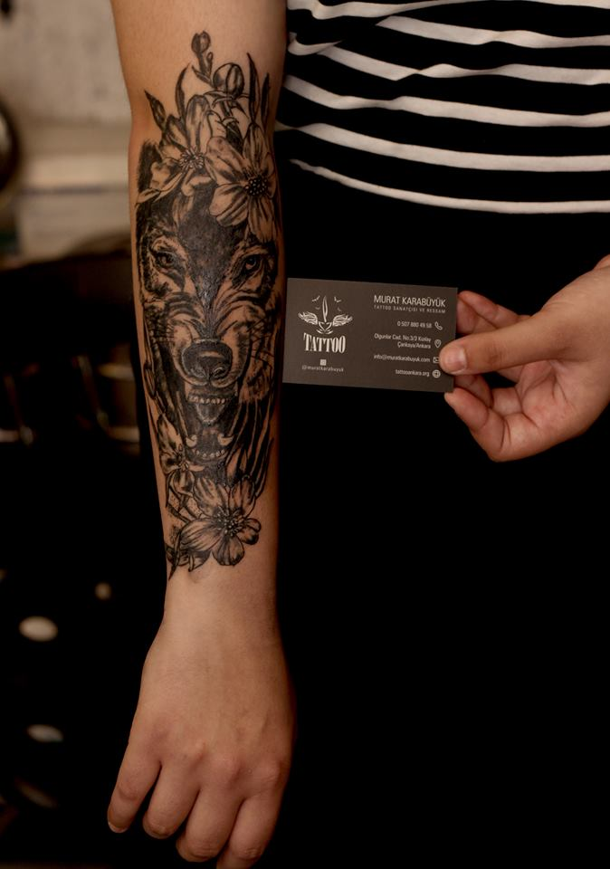 tatto kalıcı dövme ressam dövme fiyat kurt dövmesi
