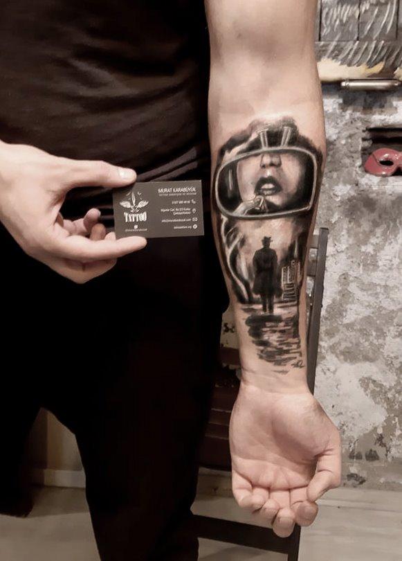 tattoo kadıköy istanbul tatto kalıcı dövme ressam minimalist 132