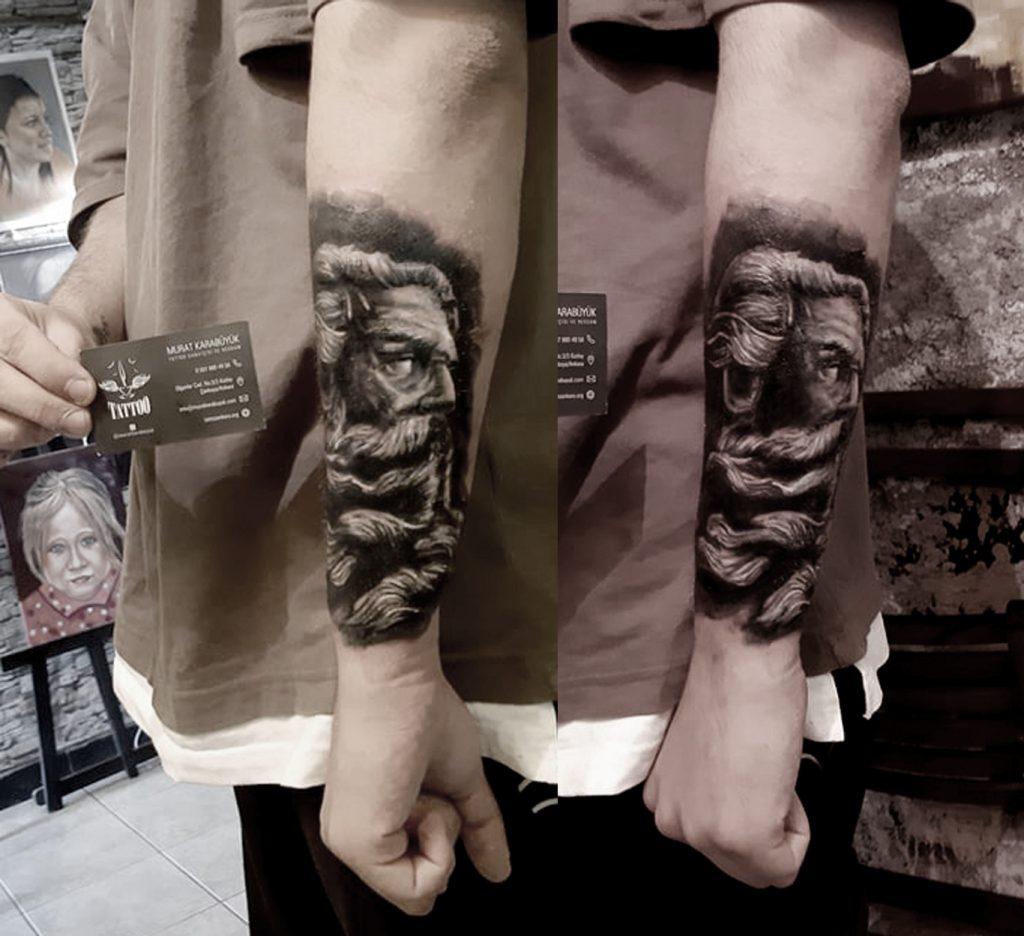 tattoo kadıköy istanbul tatto kalıcı dövme ressam mitolojik dövme 151