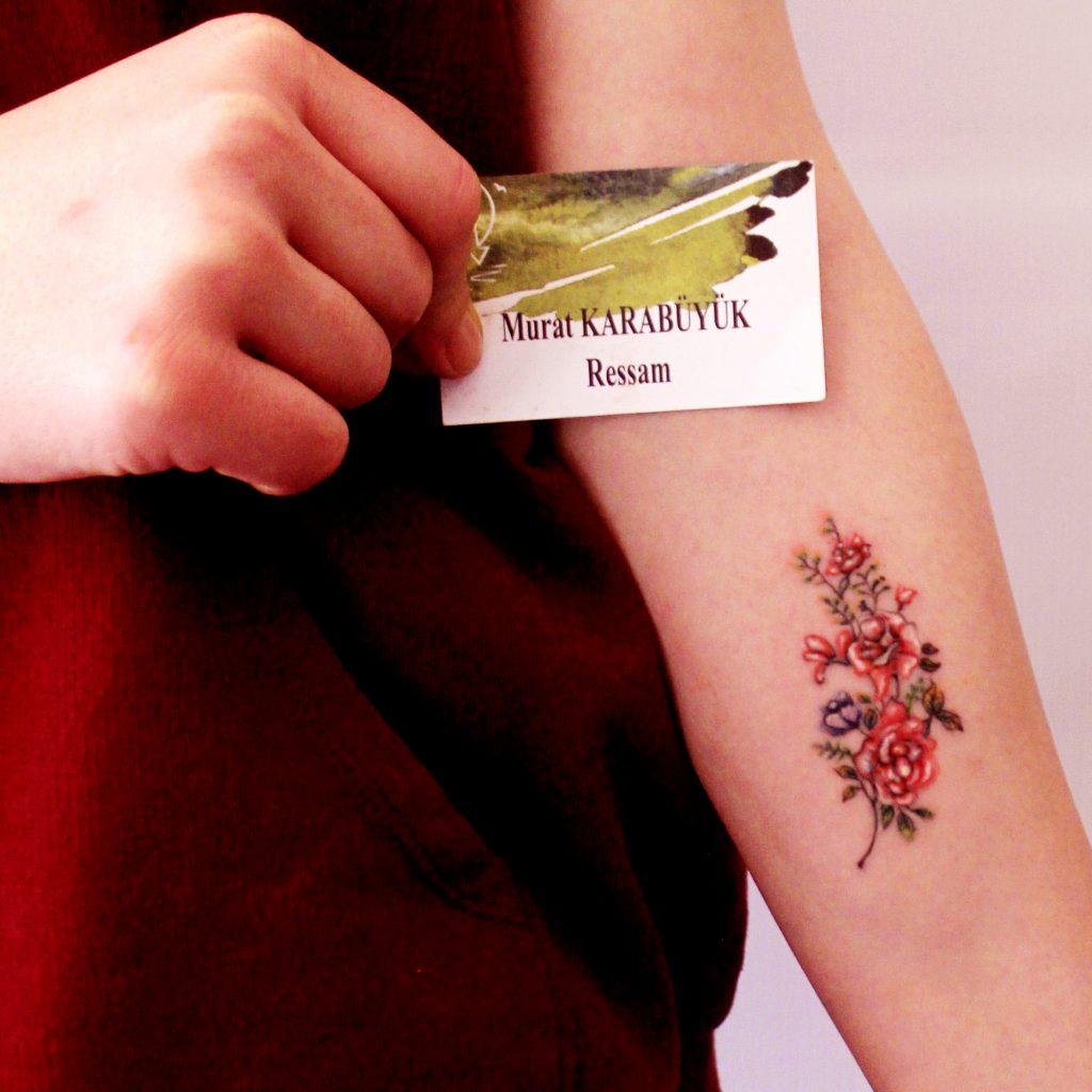 tattoo kadıköy istanbul tatto kalıcı dövme ressam dövme fiyat cicek 1